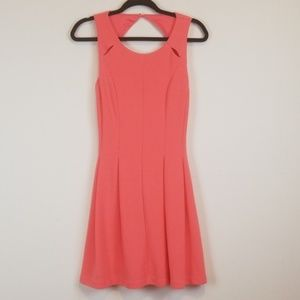 NWT Ellie coral fit & flare dress size 2